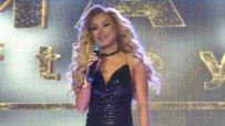 Нора Недкова отговаря на няколко въпроса от журито на Miss Playmate All Stars 2017