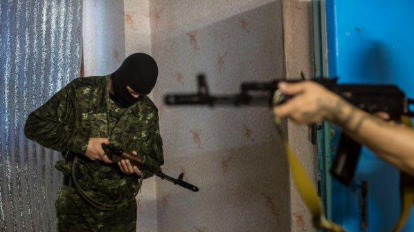 Украински полицаи обгазиха журналисти в Киев