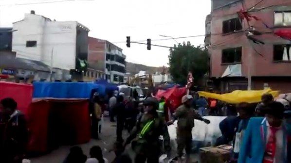 Взрив окървави боливийски карнавал