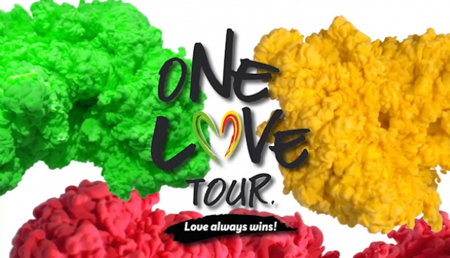 One Love Tour 2018 започва!