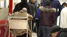 Поледицата в София причини пътни инциденти, много пешеходци пострадаха