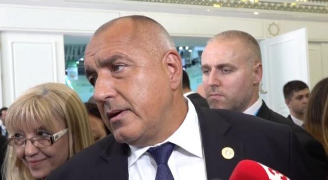 Борисов: Търсим начин природният газ от Туркменистан да достигне до България