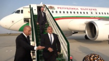 Бойко Борисов е на посещение в Туркменистан