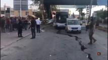 Терористи удариха турски полицейски бус. Има ранени