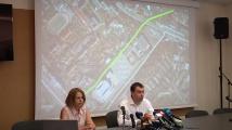Йорданка Фандъкова и главният архитект Здравко Здравков представиха проект за изграждането на линеен парк с велоалеи