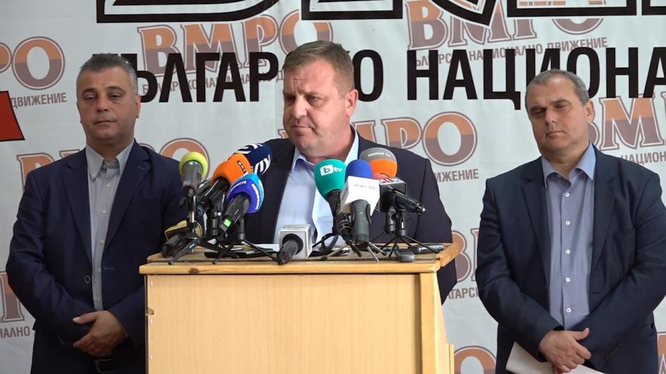 Каракачанов предлага на изборите патриотите да се явят без лидерите в листите