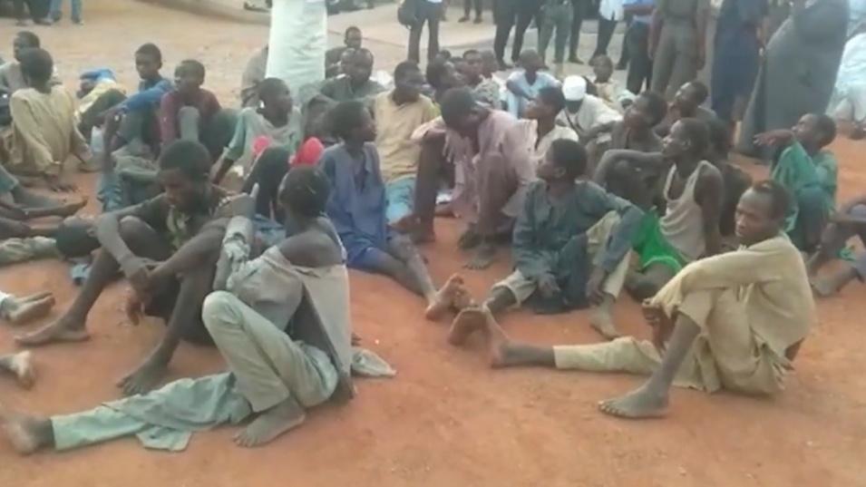 Полицията в Нигерия спаси 187 души, отвлечени от въоръжени банди за откуп