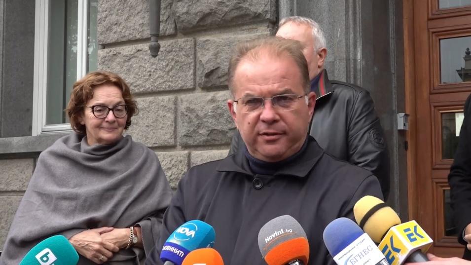 ИК регистрира в ЦИК Герджиков - Митева за президентските избори