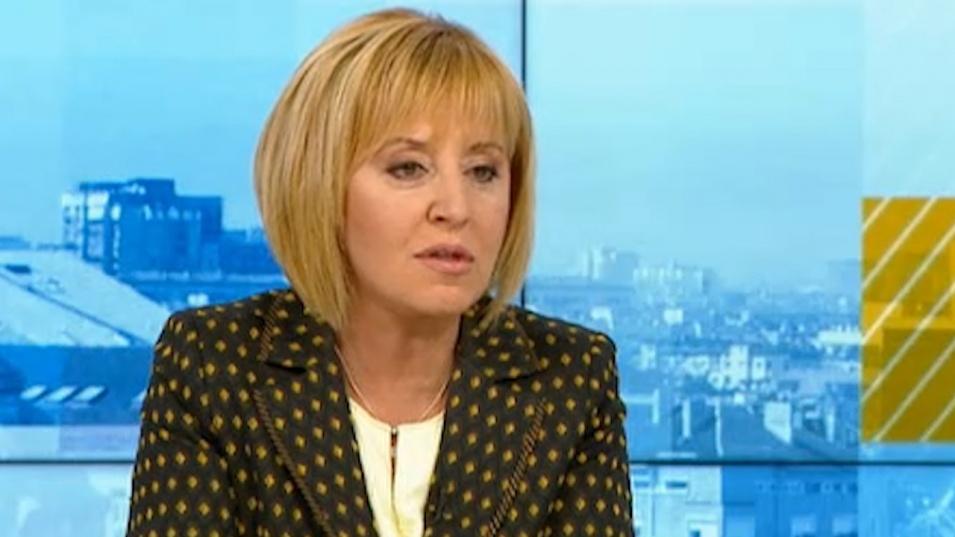Манолова: Категорично заставаме зад Румен Радев на президентските избори