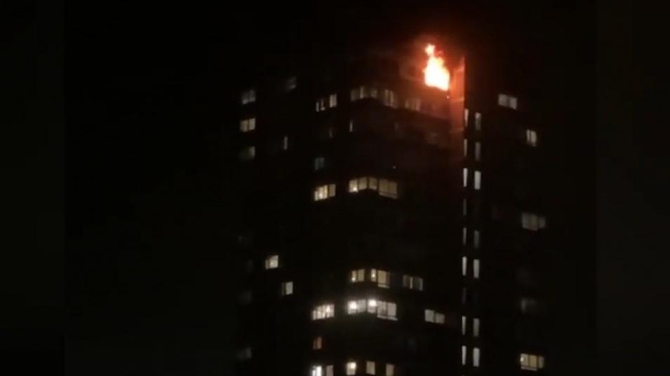 Пожар избухна в Лондон. Има хоспитализирани