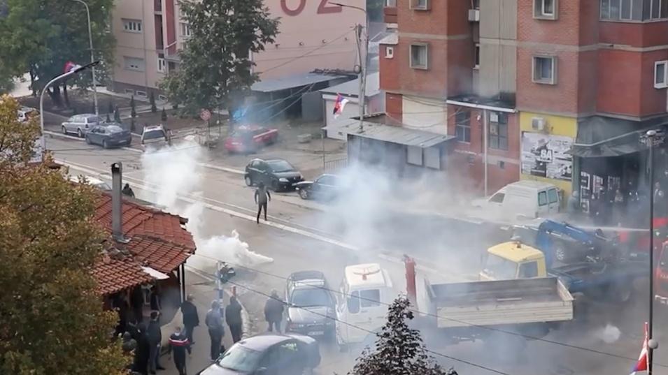 Нови сблъсъци избухнаха в Косово