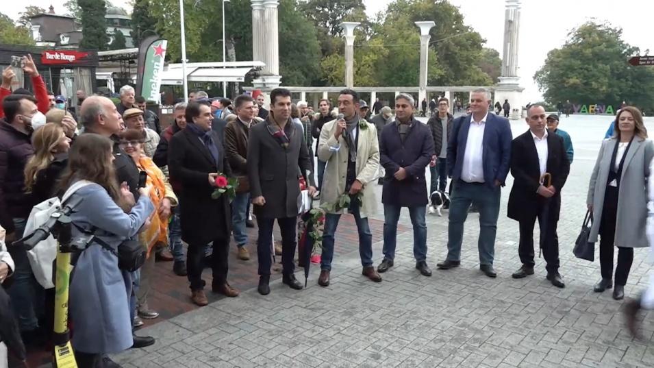 """""""Продължаваме промяната"""" представиха листата си във Варна"""